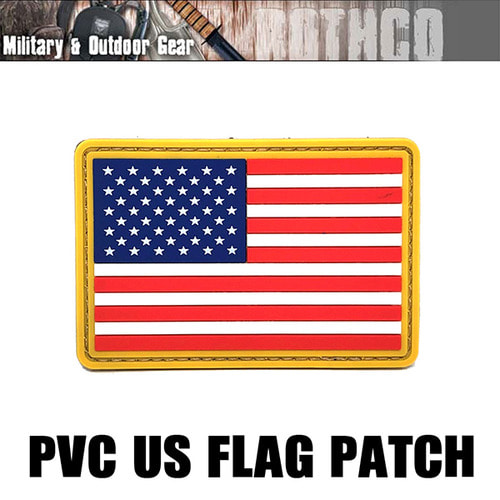 로스코 패치 21777 US FLAG PVC Original-Color